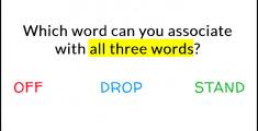 three-words
